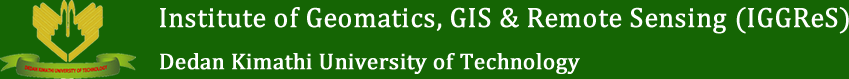 Institute of Geomatics, GIS & Remote Sensing (IGGReS) Logo